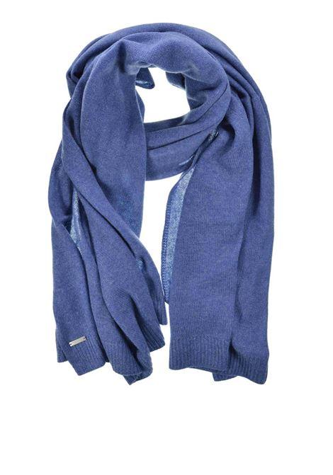 Accessori Donna Sciarpa in Puro Cachemire Blu Seeberger Est 1890 | Sciarpe e foulard | 0167080062