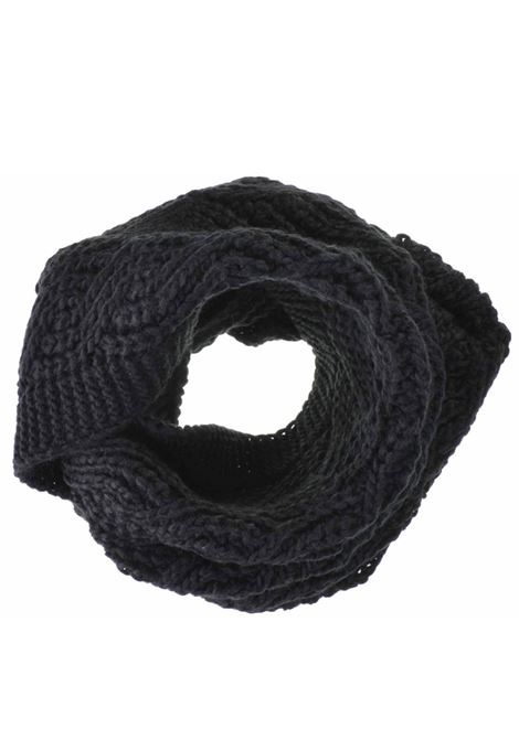 Women's Accessories Scarf Knit Loop in Black Wool Seeberger Est 1890 | Scarves and foulards | 0186170010