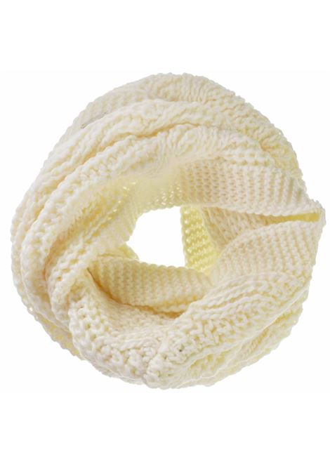Women's Accessories Scarf Knit Loop in Off-white Wool Seeberger Est 1890 | Scarves and foulards | 0186170018