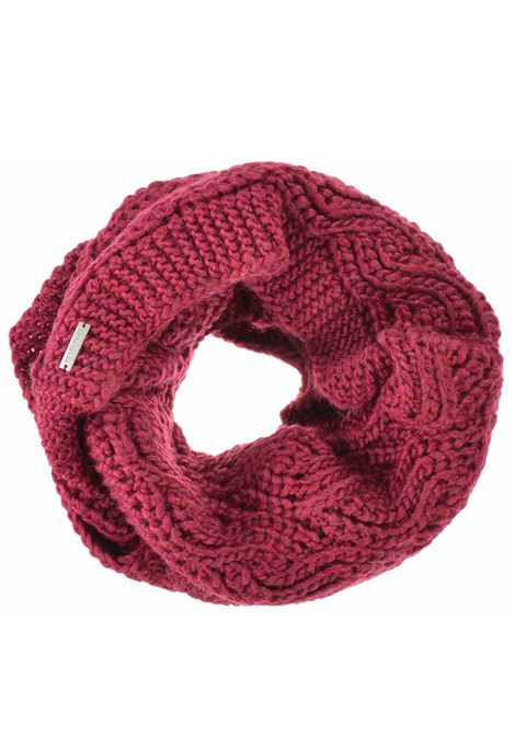Women's Accessories Scarf Knit Loop in Berry Red Wool Seeberger Est 1890 | Scarves and foulards | 0186170026