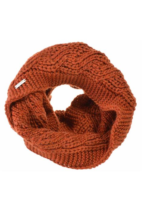 Women's Accessories Scarf Knit Loop in Brick Wool Seeberger Est 1890 | Scarves and foulards | 0186170030