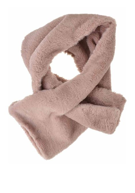 Women's Accessories Scarf in Eco-fur Pink with Slit Seeberger Est 1890 | Scarves and foulards | 0187810029