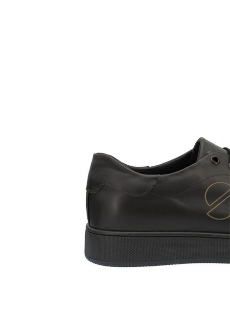 Men's Shoes Sneakers in Brown Leather with Rubber Sole Spatarella | Sneakers | 2011P013