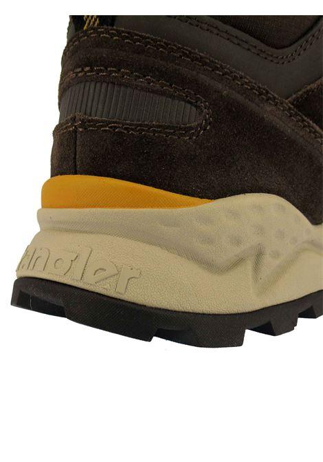 Calzature Uomo Stivaletti Stringati Crossy Mid in Pelle e Camoscio Marrone con Fondo Trekking Wrangler | Stivaletti | WM12100A030