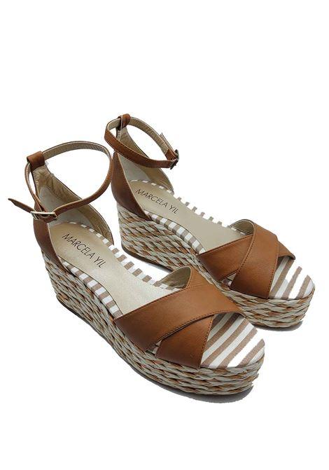 Marcela Yil | Sandals | 1807126CUOIO