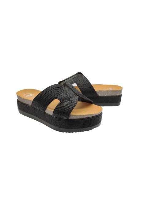 Wedge Sandals Fussbett Woman Exe | Sandals | 6169-E8NERO