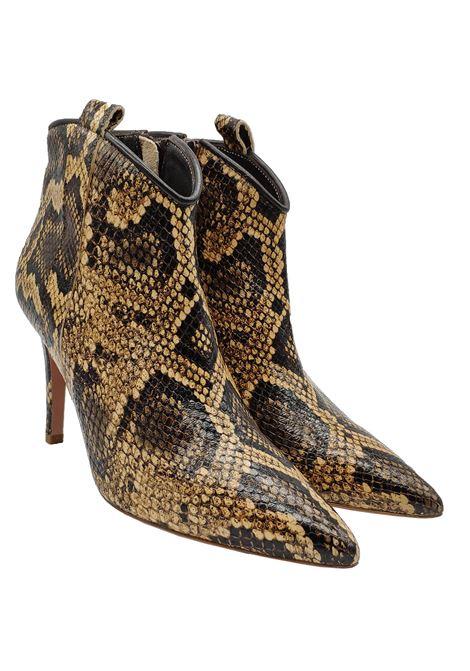 Fru | Ankle Boots | 8120PITONE CUOIO/NERO