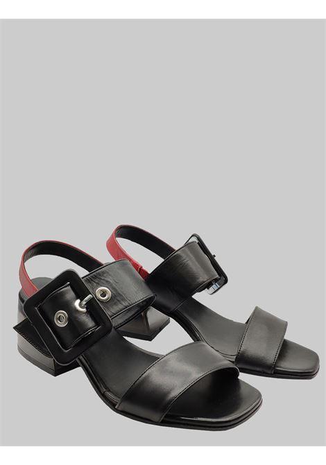 Laura Bellariva | Sandals | 3307NERO