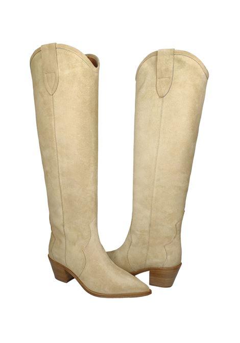 Women's Texan Boots Bervicato | Boots | 3837BEIGE