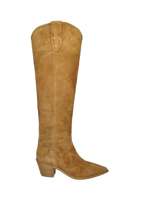 Women's Texan Boots Bervicato | Boots | 3837CUOIO