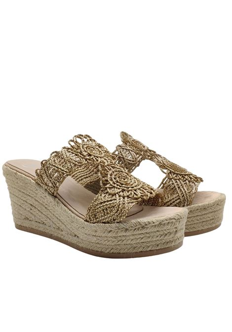 Wedge Rope Sandals Woman Exe | Sandals | 18116BEIGE