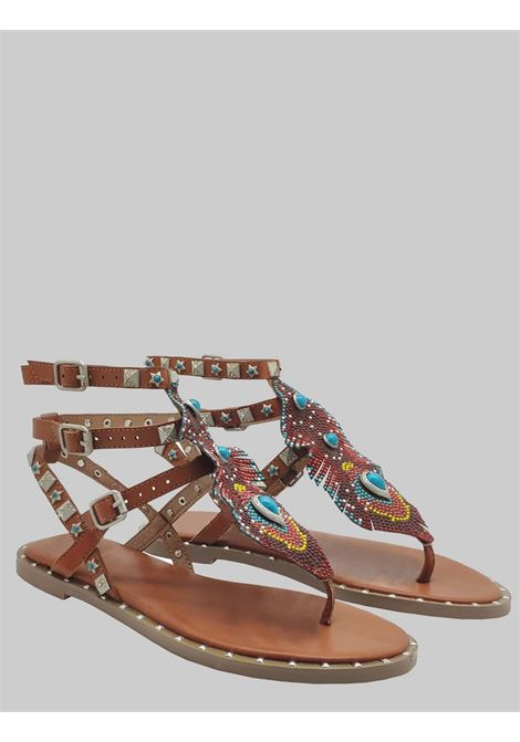 Flat Sandals Woman Exe | Flat sandals | 951CUOIO