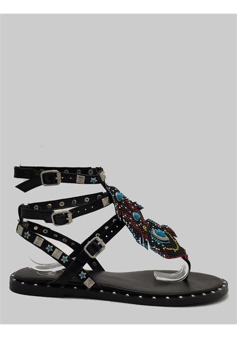 Exe | Flat sandals | 951NERO