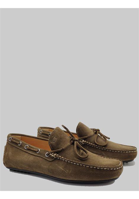 Men's Shoes Safari Suede Loafers Unlined with Rubber Studs Bottom Florsheim | Mocassins | 50256-14SAFARI