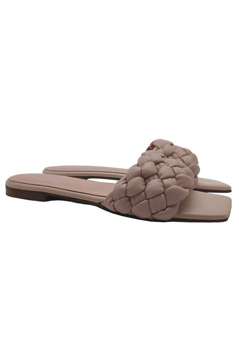 Flat Braided Sandals Woman Hegos | Sandals | 7131ROSA