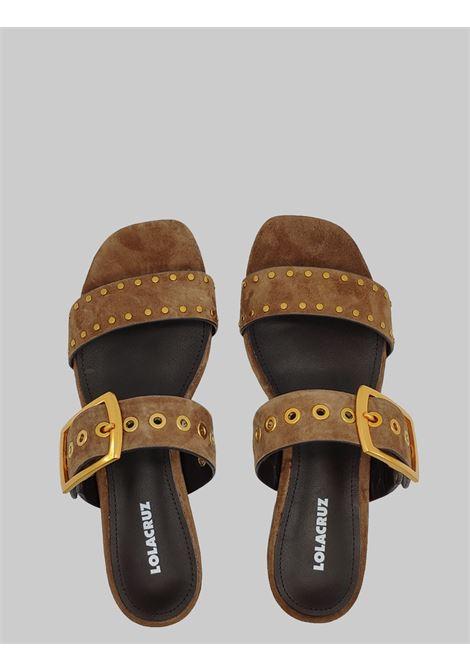 Lola Cruz | Sandals | 123Z30BKMORO