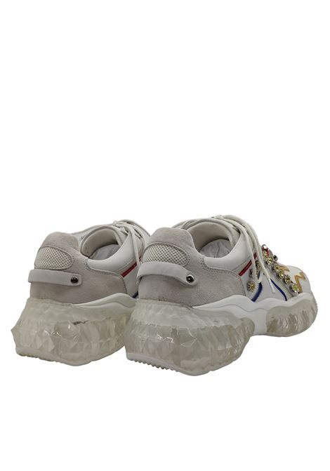 Sneakers Donna Fondo Diamond Lola Cruz | Sneakers | 452Z88PTBIANCO