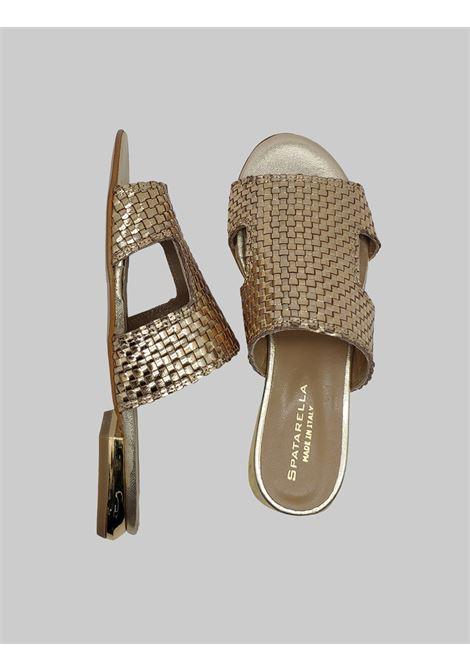 Spatarella | Sandals | AB22PLATINO