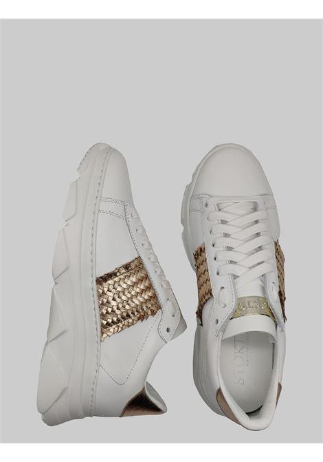 Sneakers Donna Pelle Stokton | Sneakers | 853DBIANCO