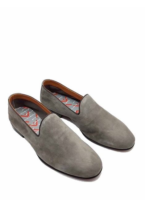 Men's Shoes Slip On Loafers in Taupe Suede Unlined and Stitched Rubber Bottom Ambitious | Mocassins | 10330023