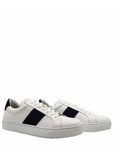 Calzature Uomo Sneakers in Pelle Bianca Ambitious | Sneakers | 10529BIANCO