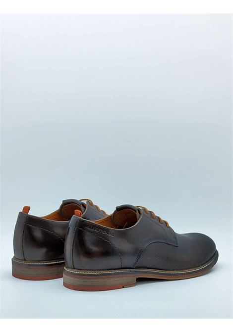 Men's Lace-up Shoes in Brown Leather with Contrast Laces Rubber Bottom Ambitious | Lace up shoes | 114465013