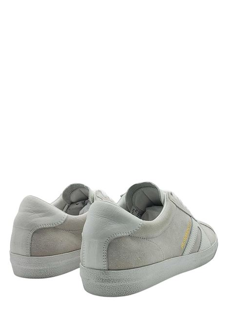 Men's Shoes Sneakers Lace-up in Beige Suede with Vintage Honey Bottom Atala | Sneakers | 10022100