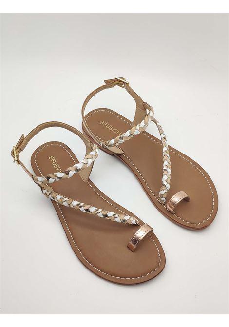 Women's Shoes Flat Sandals Flip Flops Coral Blue | Flat sandals | 1007014