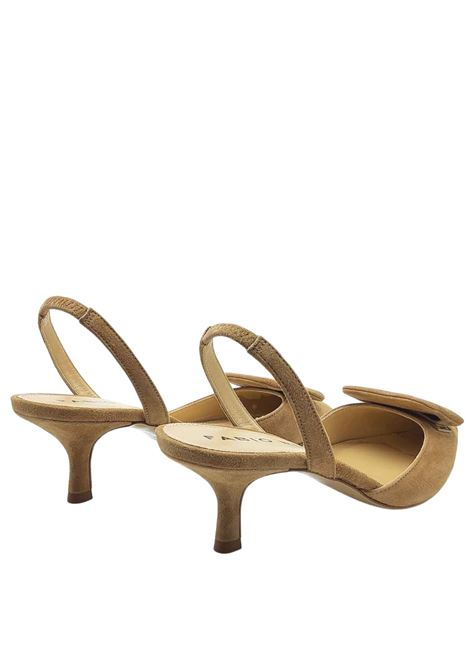 Women's Shoes Sandals in Leather Suede with Matching Accessory and Strap Fabio Rusconi | Sandals | E2024014