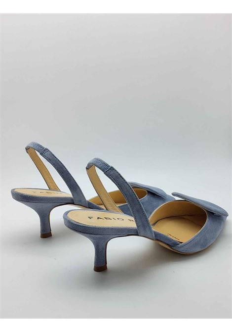 Women's Shoes Sky Suede Sandals with Matching Accessory and Strap Fabio Rusconi | Sandals | E2024400