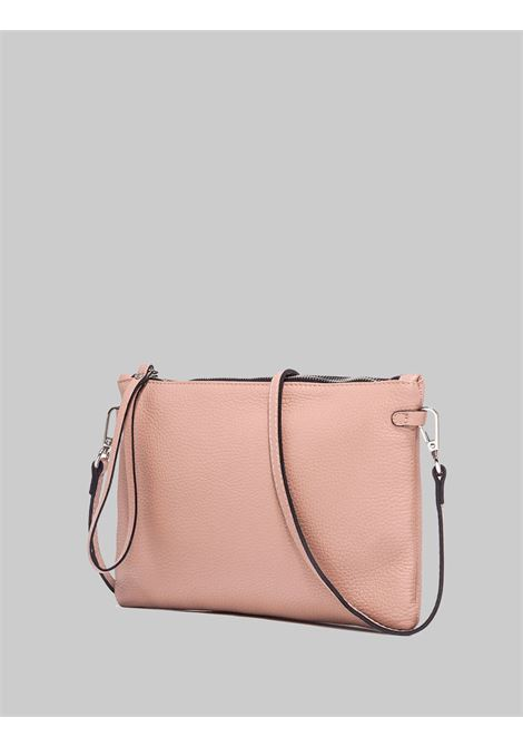 Hermy Large Women's Clutch Bag In Powder Leather With Leather Handle And Adjustable And Removable Shoulder Strap Gianni Chiarini | Bags and backpacks | BS369510105