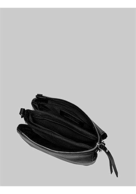 Borsa Donna Mini Three A Tracolla In Pelle Nera Con Tracolla Removibile E Regolabile Gianni Chiarini | Borse e zaini | BS4362001