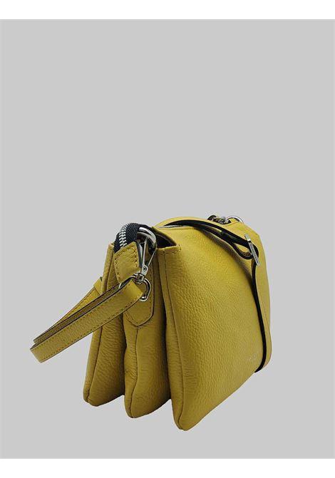 Borsa Donna Mini Three A Tracolla In Pelle Senape Con Tracolla Removibile E Regolabile Gianni Chiarini | Borse e zaini | BS436211040