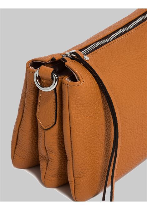 Woman Mini Three Shoulder Bag In Tan Leather With Removable And Adjustable Leather Shoulder Strap Gianni Chiarini | Bags and backpacks | BS436211041