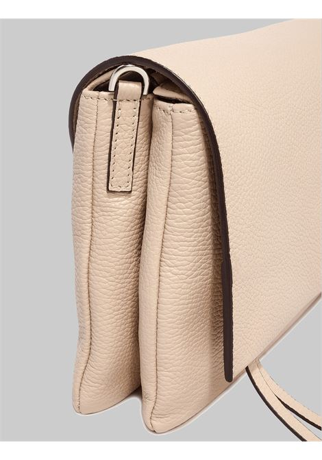 Three Shoulder Bag Woman In Beige Leather With Long Flap And Removable Shoulder Strap Gianni Chiarini | Bags and backpacks | BS436411706