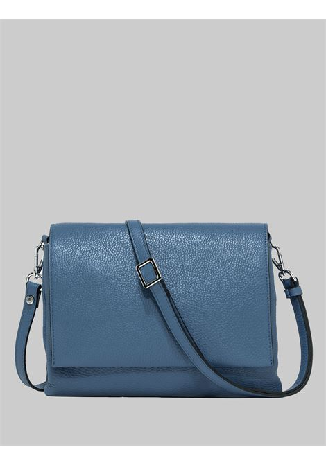 Three Shoulder Bag Woman In Powder Blue Leather With Long Flap And Removable Shoulder Strap Gianni Chiarini | Bags and backpacks | BS436411710