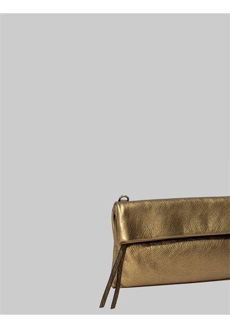 Borsa Donna Pochette Mini Cherry In Pelle Champagne Con Tracolla Removibile A Tono Gianni Chiarini | Borse e zaini | BS7374448