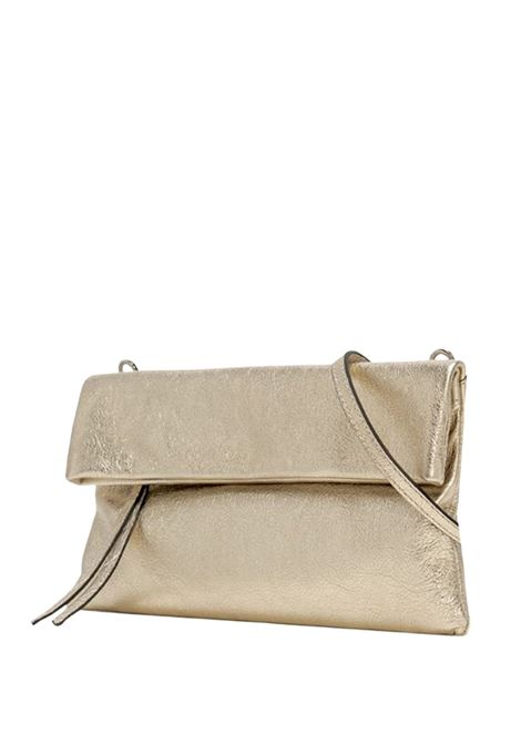 Cherry Small Woman Clutch Bag In Platinum Leather With Tone Removable Shoulder Strap Gianni Chiarini   Bags and backpacks   BS7374571