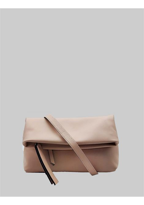 Cherry women's large clutch in powder pink smooth leather with removable shoulder strap Gianni Chiarini | Bags and backpacks | BS737710105