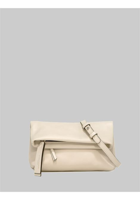 Cherry women's large clutch bag in cream smooth leather with removable and adjustable shoulder strap Gianni Chiarini | Bags and backpacks | BS73773089