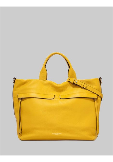 Duna Shoulder Bag in Mustard Leather with Braided Rope Handle and Adjustable and Removable Shoulder Strap Gianni Chiarini | Bags and backpacks | BS760211040