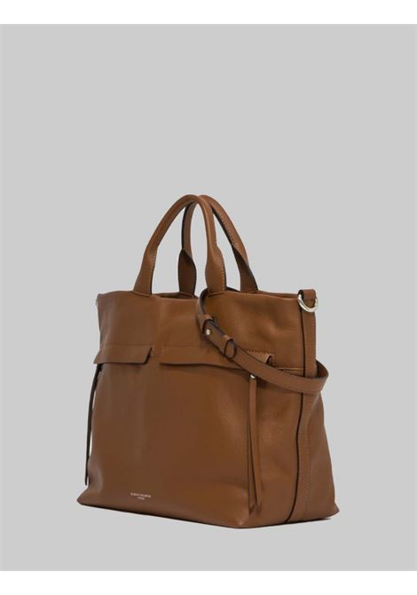 Duna Shoulder Bag in Tan Leather with Braided Rope Handle and Adjustable and Removable Shoulder Strap Gianni Chiarini | Bags and backpacks | BS7602206