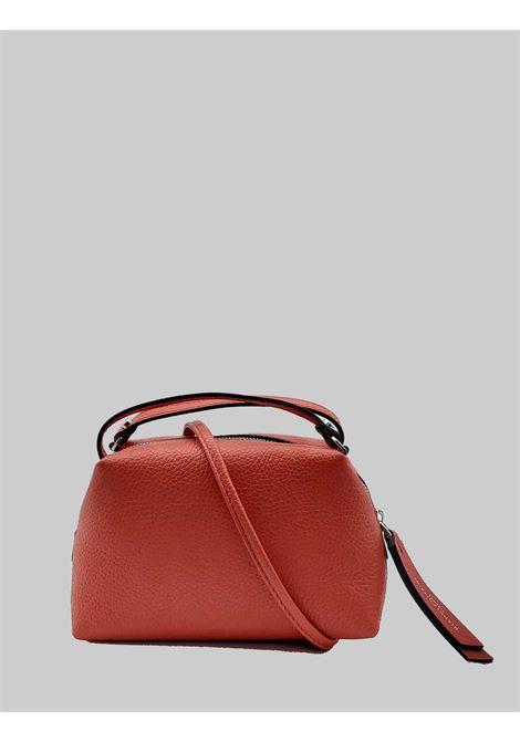 Small Alifa Woman Bag in Red Leather with Double Hand Handle and Removable Shoulder Strap Gianni Chiarini | Bags and backpacks | BS814511707