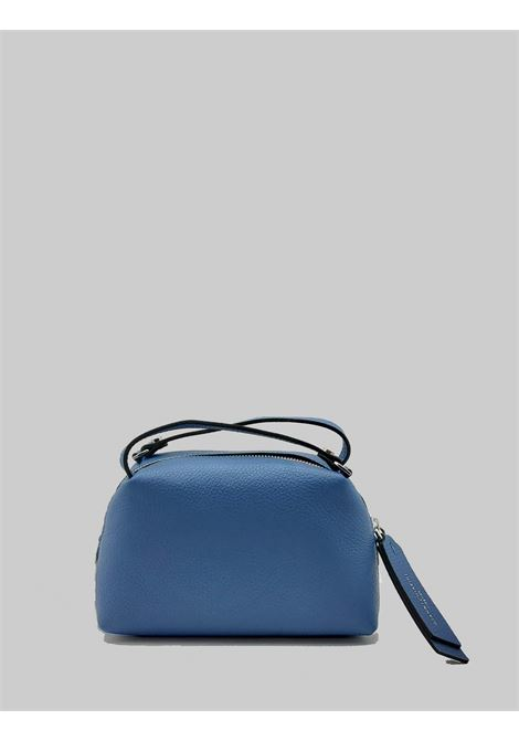 Borsa Donna Mini Alifa in Pelle Blu Polvere con Doppio Manico a Mano e Tracolla Removibile Gianni Chiarini | Borse e zaini | BS814511710