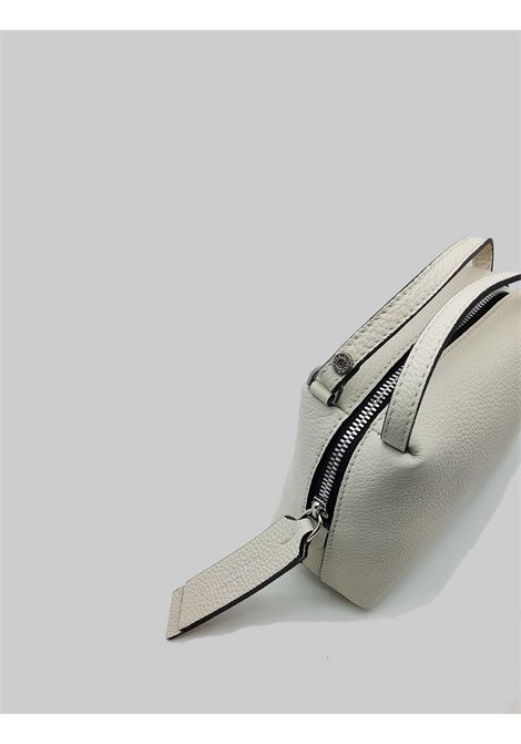 Small Alifa Woman Bag in Cream Leather with Double Hand Handle and Removable Shoulder Strap Gianni Chiarini | Bags and backpacks | BS81453890
