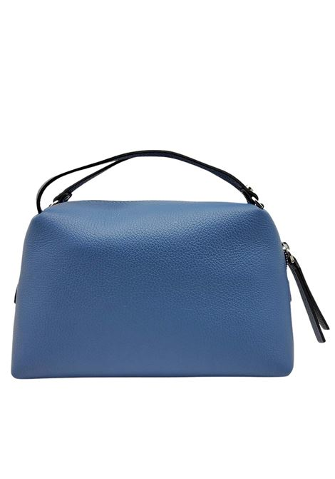 Alifa Woman's Bag in Powder Blue Leather with Double Hand Handle and Removable Shoulder Strap Gianni Chiarini   Bags and backpacks   BS814811710