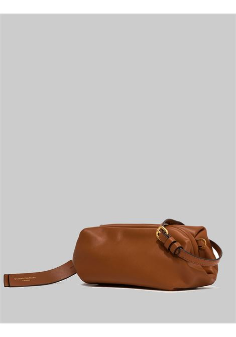 Small Colette Woman Bag In Tan Leather With Gold Chain And Removable And Adjustable Shoulder Strap Gianni Chiarini | Bags and backpacks | BS8404206