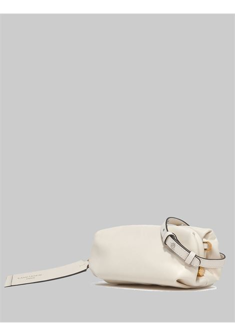 Small Colette Woman Bag In Cream Leather With Gold Chain And Removable And Adjustable Shoulder Strap Gianni Chiarini | Bags and backpacks | BS84043890