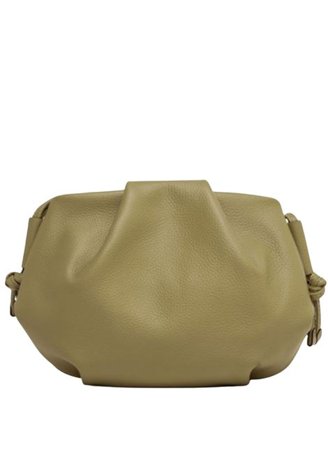 Flora Large Shoulder Bag In Soft Green Leather With Shoulder Strap Gianni Chiarini | Bags and backpacks | BS847611730