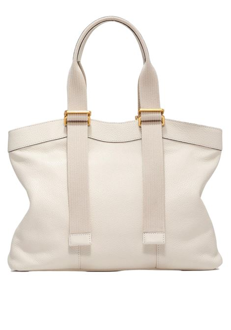 Amaranta Women's Shoulder Bag In Cream Leather With Tone-On-Tone Adjustable Handles Gianni Chiarini | Bags and backpacks | BS85203890